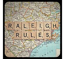 Raleigh Rules Photographic Print