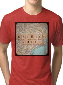 Raleigh Rules Tri-blend T-Shirt