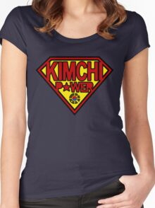 Kimchi Power Women's Fitted Scoop T-Shirt