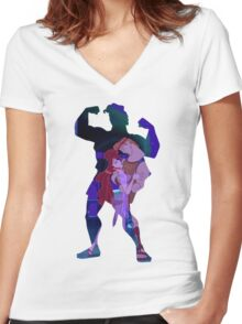 Hercules ~ People Do Crazy Things When They're In Love Women's Fitted V-Neck T-Shirt