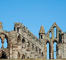 whitby abbey ruin by photoeverywhere