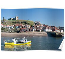 whitby pleasure cruise Poster