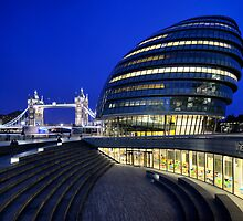 Tower Bridge and City Hall by Mark Sykes