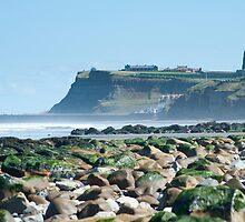whitby headland by photoeverywhere
