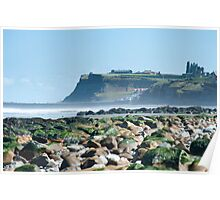 whitby headland Poster