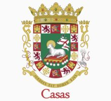 Casas Shield of Puerto Rico Kids Clothes