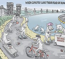 The Coyotes of Burlington Bay by MacKaycartoons