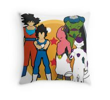 DBZ. Dragon ball. Fanart.  Throw Pillow