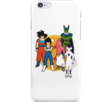DBZ. Dragon ball. Fanart.  iPhone Case/Skin