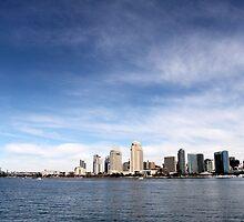 Skyline San Diego by Henrik Lehnerer