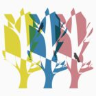 CMYK Trees by foxdesign