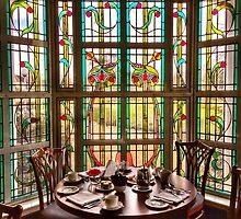 Art Deco Window by Ludwig Wagner