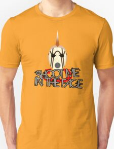 Face McShooty- Borderlands 2 (Simplified Face&Quote) Unisex T-Shirt
