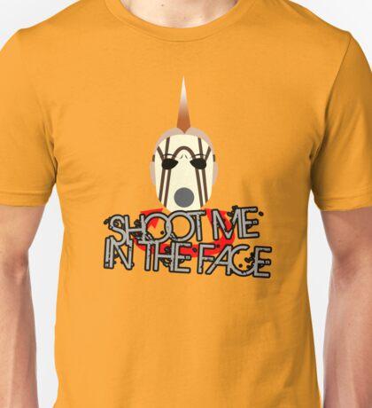 Face McShooty- Borderlands 2 (Simplified Face&Quote) Unisex T-Shirt