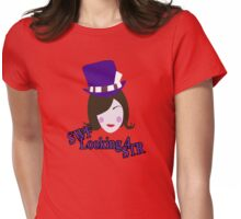Mad Moxxie - Borderlands 2 (Simplified Face&Quote) Womens Fitted T-Shirt