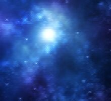 Blue Galaxy is Blue by whomadethat