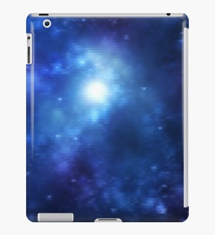 Blue Galaxy is Blue iPad Case/Skin