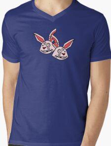 Mushy Snugglebites & Felicia Sexopants- Borderlands 2 Mens V-Neck T-Shirt