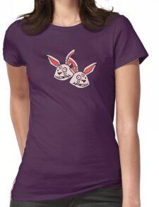 Mushy Snugglebites & Felicia Sexopants- Borderlands 2 Womens Fitted T-Shirt