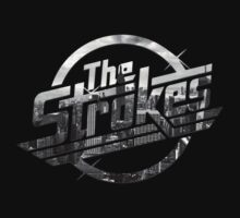 The Strokes Logo New York Black And White by gakest
