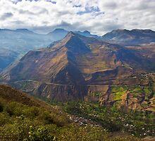 Traveling to Banos-Ambato, Ecuador by Al Bourassa