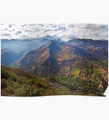 Traveling to Banos-Ambato, Ecuador Poster
