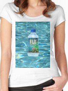 Fiji Water T-Shirt Women's Fitted Scoop T-Shirt