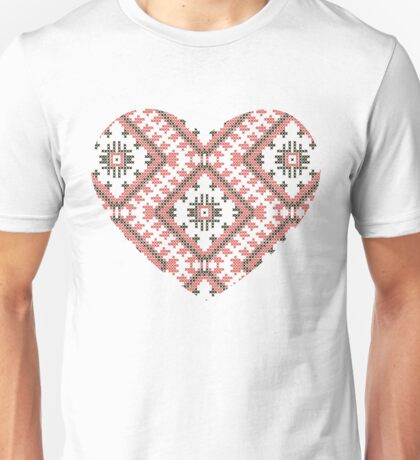 Ukrainian national ornaments Unisex T-Shirt