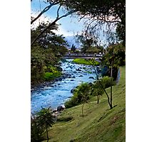 Rio Tomebamba At Its Finest Photographic Print
