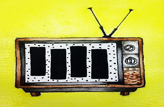 Black Flag is in the T.V.  by ArtByJenga