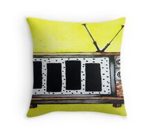 Black Flag is in the T.V.  Throw Pillow