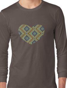 Ukrainian national ornaments Long Sleeve T-Shirt