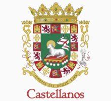 Castellanos Shield of Puerto Rico One Piece - Short Sleeve