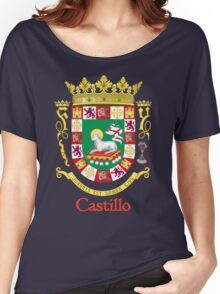Castillo Shield of Puerto Rico Women's Relaxed Fit T-Shirt