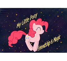 Pinkie Pie w/ Background Photographic Print