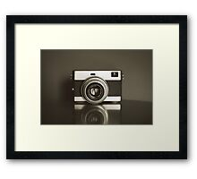 camera can steal your heart Framed Print