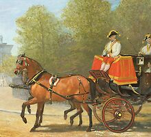 Returning from Her Majesty's Drawing Room, Hyde Park Corner by Bridgeman Art Library