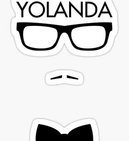 Where are you, Yolanda? Sticker