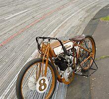 Harley-Davidson Board Track Racer by Frank Kletschkus