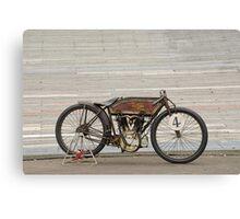 Excelsior Board Track Racer Canvas Print