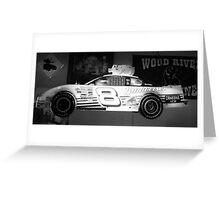 Budweiser Race Car Greeting Card