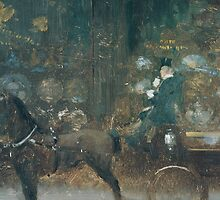 Carriage Ride (Passeggiata in carrozza) by Bridgeman Art Library