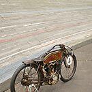 Excelsior Board Track Racer by Frank Kletschkus