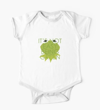 Being Green One Piece - Short Sleeve