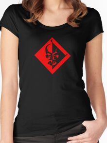 Desperado Logo - Metal Gear Rising  Women's Fitted Scoop T-Shirt