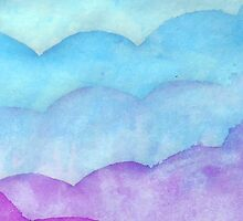 Watercolor Clouds by FlairForWhimsy