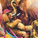 Happy elephant by RoseRigden