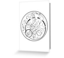 """""""All of time and space..."""" Doctor Who Quote Greeting Card"""