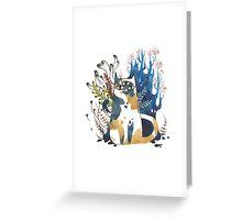 Kalanchoe - Feline Terrarium Greeting Card