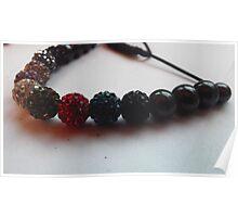 Colourful Bracelet Poster